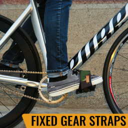 Fixed Gear Straps Fixie pedal