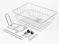 BLB Rack & Basket Combo - Chrome