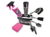 Cleaner Muc Off Cleaning Kit Cleaner Spray 4 Brushes Sponge