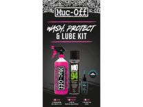 Muc-Off Wash Protect & Lube Kit (Wet Lube Version)