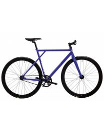 Polo and Bike Cmndr K.S.K. Blue Fixie Bike