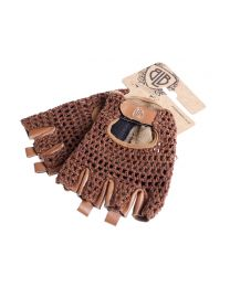 BLB Leather Cycling Gloves